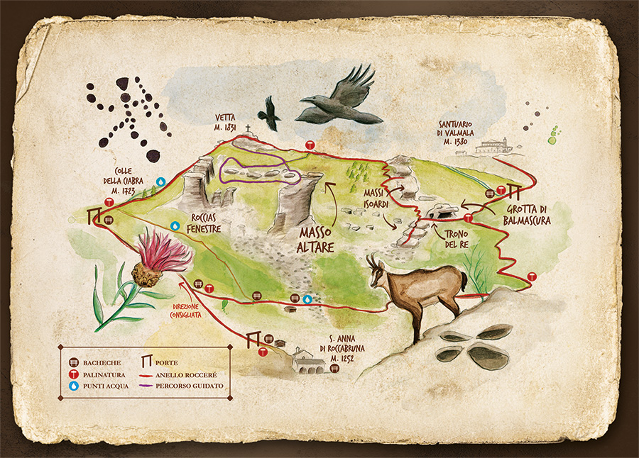 Mappa RocceRé