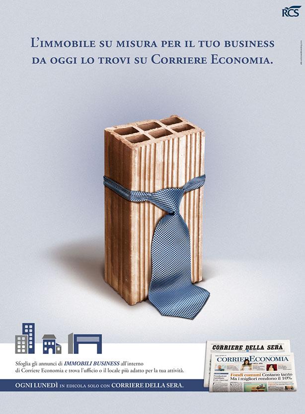 Corriere Economia annuncio