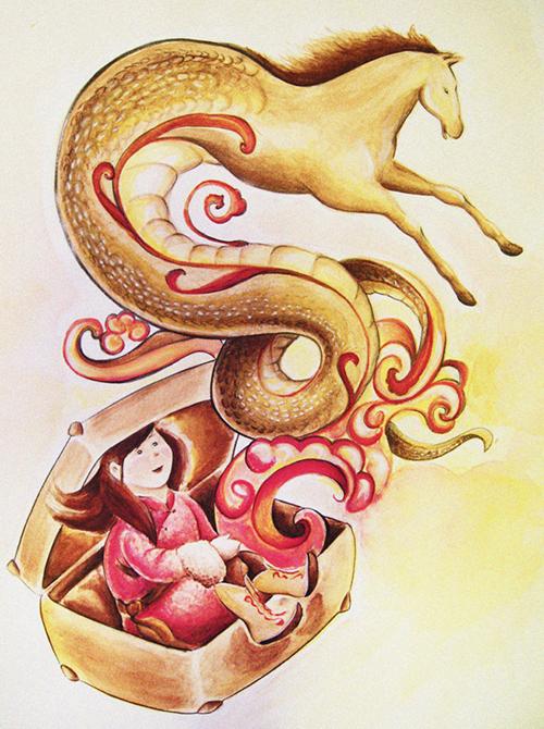 Il serpente che diventò cavallo