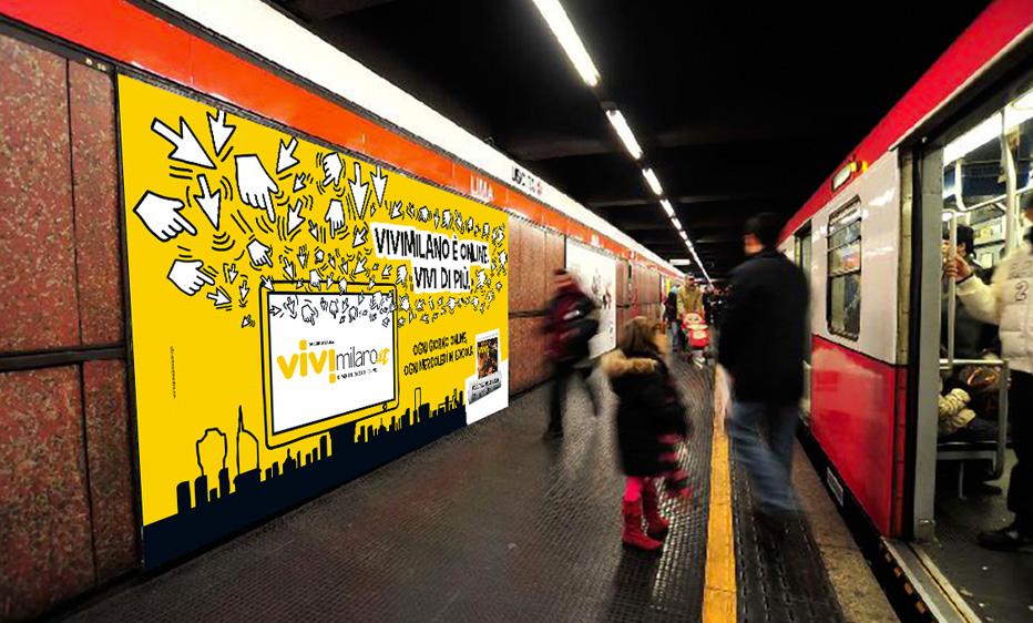 ViviMilano affissione Lima