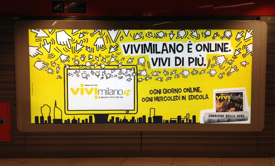 ViviMilano affissione
