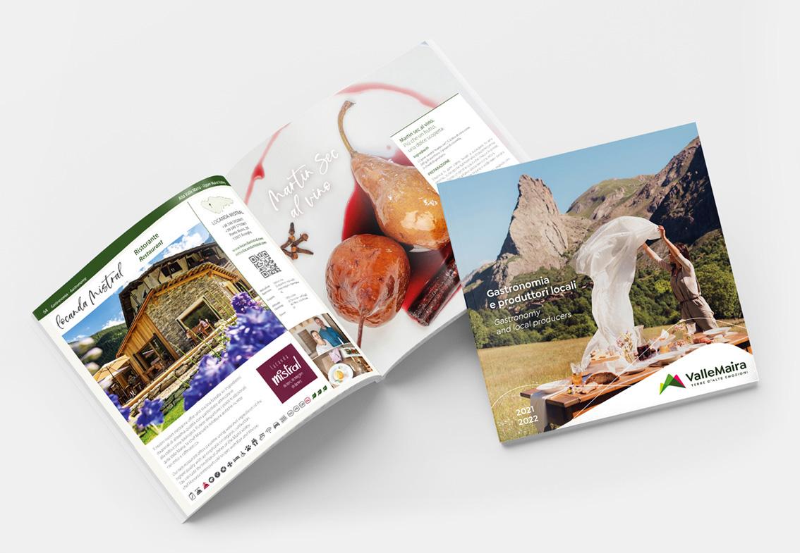 Brochure Gastronomia Valle Maira